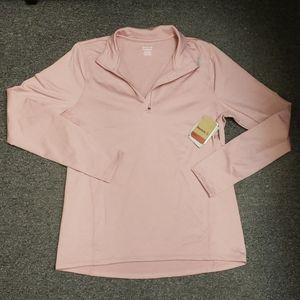 📢 NWT Women's Reebok half-zip pullover size XL
